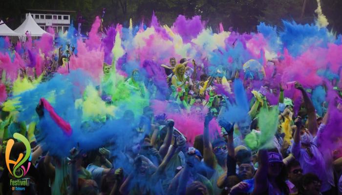 Holi Festival Of Colours Hildesheim